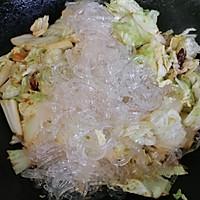 家常下饭菜--白菜炒粉条的做法图解7