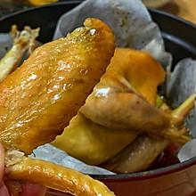 烤箱慢焖鸡 | 现代版叫花鸡