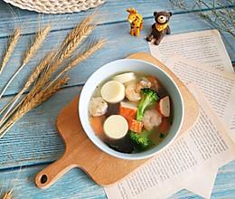 日本豆腐海鲜汤的做法