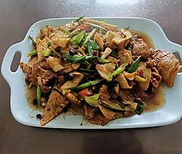 竹笋回锅肉的做法