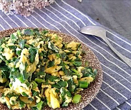 #憋在家里吃什么#鸡蛋抱韭菜的做法