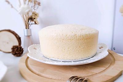 鸭蛋蒸蛋糕