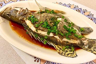 清蒸桂魚(蔥油版)