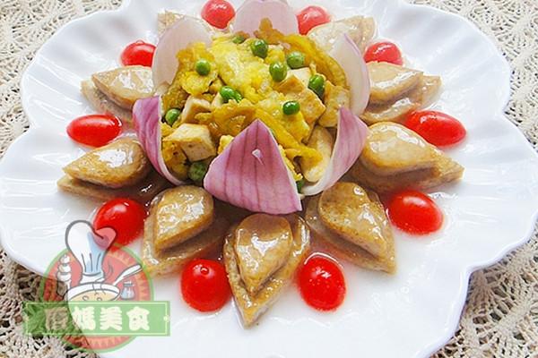 荷花豆腐的做法