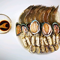 75块钱宴请宾客的硬菜【蒸】海鲜大咖的做法图解9