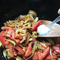 #花10分钟,做一道菜!#西红柿素三鲜的做法图解8