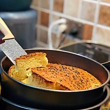 自制 鸡蛋芝麻烤蛋糕 家庭简易版