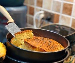 自制 鸡蛋芝麻烤蛋糕 家庭简易版的做法
