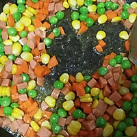 五彩蔬菜#黑人牙膏一招制胜#的做法图解3