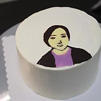 人物转印生日蛋糕的做法图解20