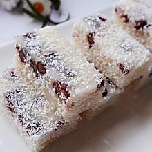 蜜红豆糯米糕