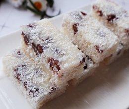 蜜红豆糯米糕的做法