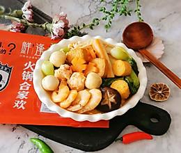 """鲜味减脂火锅#美食说出""""新年好""""#的做法"""