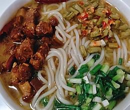 #全电厨王料理挑战赛热力开战!#过桥米线之焖肉米线的做法