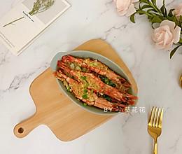 金针菇蒜蓉开背虾#就是红烧吃不腻!#的做法