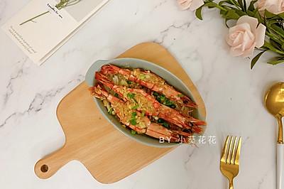 金针菇蒜蓉开背虾#就是红烧吃不腻!#