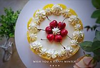 #白色情人节限定美味#香橙酸奶慕斯蛋糕,做给爱你的人的做法