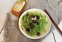 #太太乐鲜鸡汁玩转健康快手菜#上汤豆苗的做法