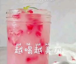 鲜榨石榴汁的做法