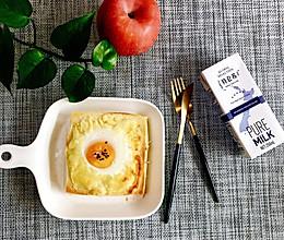 太阳蛋➕芝士肉松三明治的做法