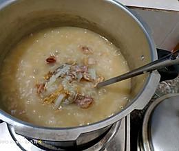 萝卜烧骨粥的做法