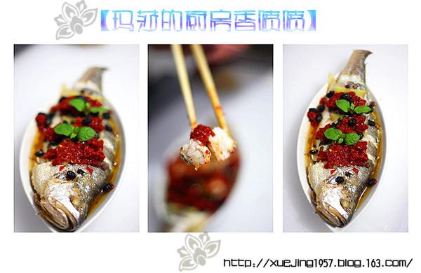 剁椒豆豉蒸黄鱼的做法