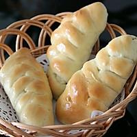 营养早餐  花式夹心面包   (芝士肠 果酱 肉松三种口味)的做法图解10