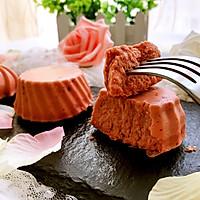 红曲芝士小蛋糕 #舌尖上的春宴#的做法图解17