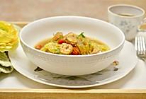 今天想喝汤: 上汤鲜虾娃娃菜的做法