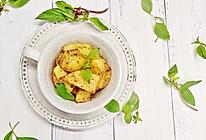 减脂孜然烤薯角#春季减肥,边吃边瘦#的做法