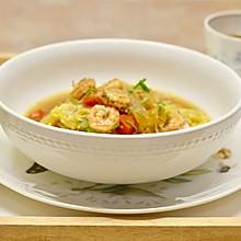 今天想喝汤: 上汤鲜虾娃娃菜