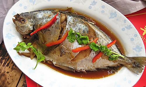 年夜饭_红烧鱼的做法