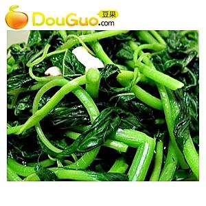清炒茼蒿菜的做法