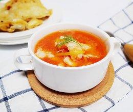 #鲜动生活越南龙利鱼柳试吃#番茄鱼片汤的做法
