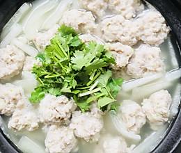 冬瓜猪肉丸子汤的做法