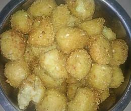 油炸土豆泥的做法