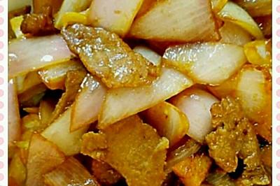 肉炒洋葱(葱头)