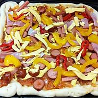 自制方型披萨【利仁电饼铛试用5】的做法图解21