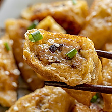 豆腐皮饺子 | 酥嫩脆香