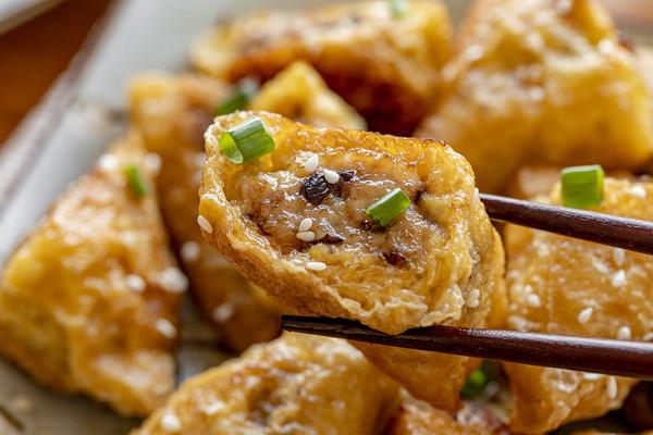 豆腐皮饺子 | 酥嫩脆香的做法
