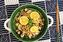 减肥餐~鸡胸肉藜麦沙拉的做法