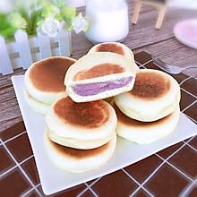 低脂又营养的紫薯芋泥饼