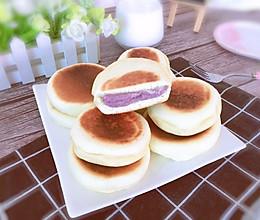 低脂又营养的紫薯芋泥饼的做法