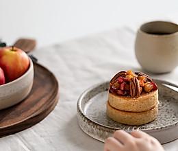 苹果的季节,吃个奶香苹果松饼最满足!的做法