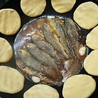 铁锅炖黄鱼贴饼子#新年新招乐过年#的做法图解13