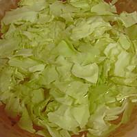 炝炒圆白菜 的做法图解2