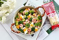 西兰花虾仁土豆沙拉的做法