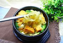 咖喱肉豆腐粉丝汤的做法