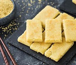 小米银鱼饼的做法