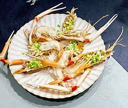 新鲜海鳌虾的鲜香烹食法的做法